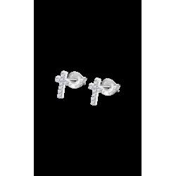 Pendientes Lotus plata LP3066-4/1