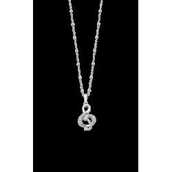 Colgante Lotus plata mujer LP3018-1/1