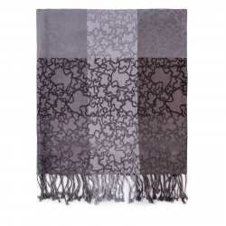 Foulard Kaos en color negro-gris 995920058