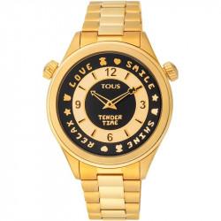 Reloj TOUS Tender Time Mujer Analógico Dorado 100350460